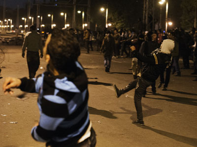 Naked man beaten by Cairo police claims officers were 'helping' him