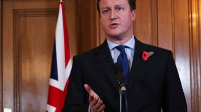British Prime Minister David Cameron. (AFP Photo / Dan Kitwood)