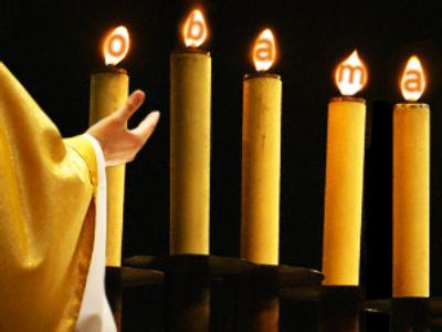 Catholics frown at Obama prayer