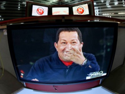 Chatty Chavez's 'Alo, Presidente' muted