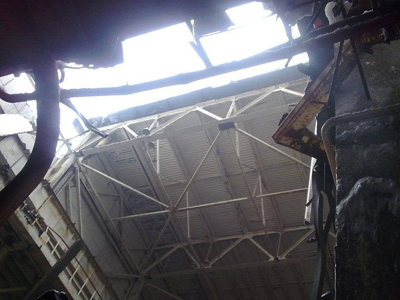 Chernobyl plant's roof collapses, but no radiation risk (PHOTOS)