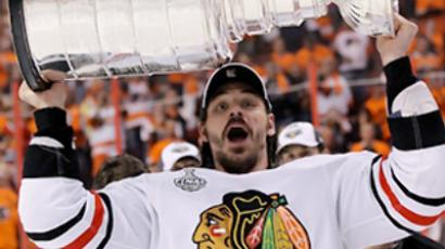 Blackhawks win Stanley Cup after 49 years