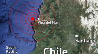 6.5 earthquake shakes Santiago, central Chile