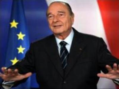 Chirac makes last speech  to nation