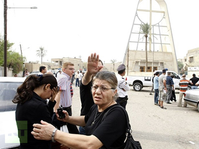 Deadly Baghdad church siege overshadows US pullout
