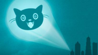 """The group is likening itself to the Internet version of a """"bat signal"""". Image from internetdefenseleague.org"""