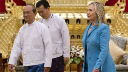 Challenging China: Obama's Asia tour starts in Myanmar