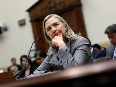 Hillary Clinton (Win McNamee / Getty Images / AFP)