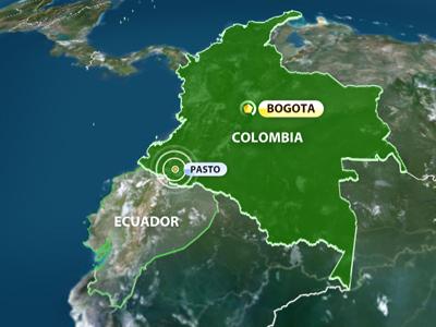 Magnitude 6.9 quake hits Colombia