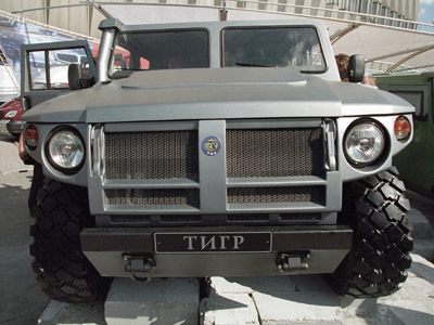 A Tiger (GAZ29752) heavy off-road vehicle (RIA Novosti/Igor Mikhalev)