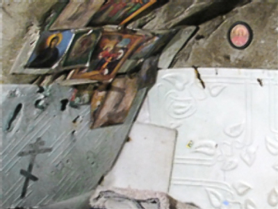 Inside the Doomsday underground bunker