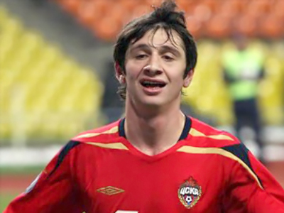 The Man of the Match, CSKA's Alan Dzagoev