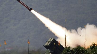 A U.S.-made Patriot missile (Reuters/Richard Chung)