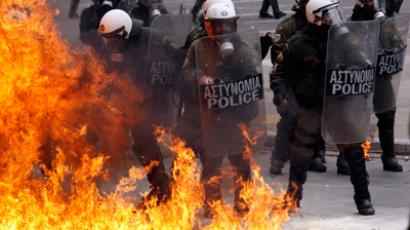 Massive austerity bill approved in riot-torn Greece