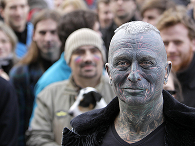 Tattoo-covered professor may play kingmaker in Czech presidential election