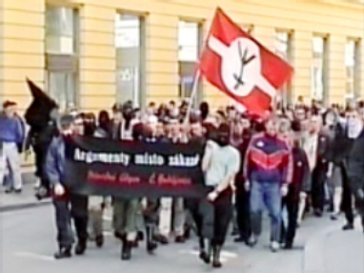 Czech neo-Nazis forget their history lessons