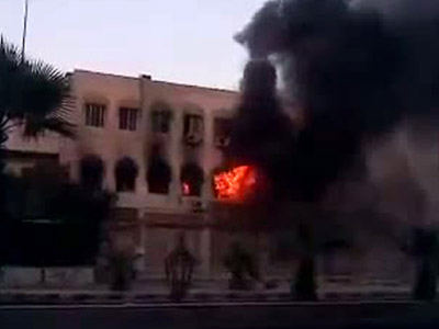 Syrian rebels attack government HQ in Damascus