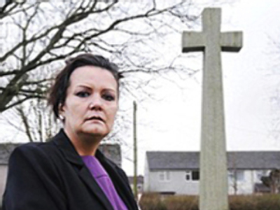 Daughter of WW2 pilot found guilty of assault on 'memorial vandal'