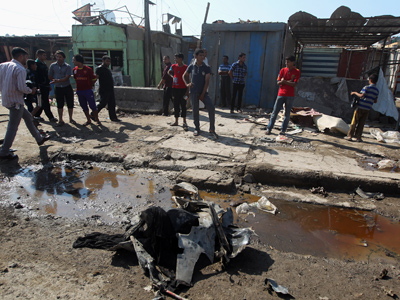 Over 40 killed in violence across Iraq on major Muslim holiday