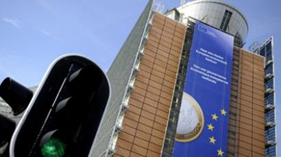 This picture taken on March 24, 2011 shows the European Commission headquarters in Brussels (AFP Photo / Lionel Bonaventure)