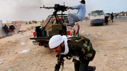 Russia and France bicker over weapons for Libyan rebels