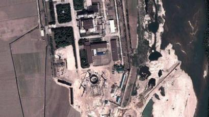 A satellite image shows the area around the Yongbyon nuclear facility in North Korea. (Image: Google)