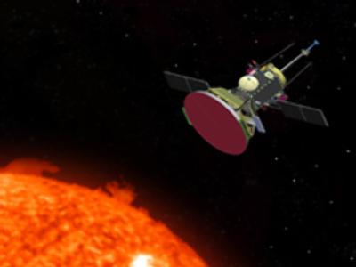 Solar probe artistic concept
