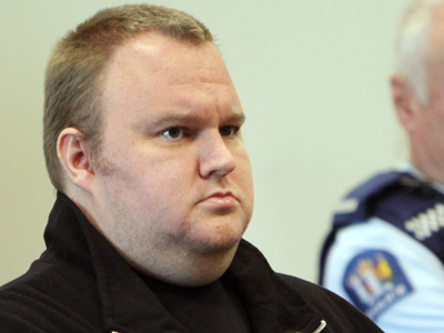 Megaupload boss Kim Dotcom. (AFP Photo / Michael Bradley)