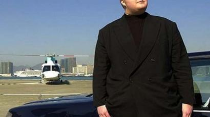 Megaupload boss Kim Dotcom (AFP Photo / Michael Bradley)