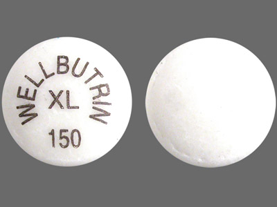"Wellbutrin: allegedly makes you ""happy, horny, skinny"". Not what the FDA says.  (Image from medconnections.com)"