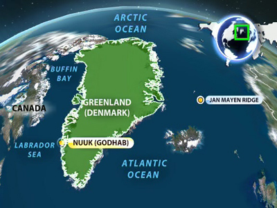 6.6 magnitude earthquake strikes off Greenland's coast