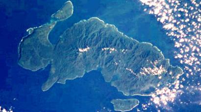 NASA photo of Nendo, the largest of the Santa Cruz Islands