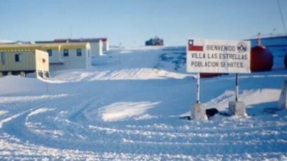 Base Presidente Eduardo Frei Montalva in Antarctica. Image from ecopowerchile.com