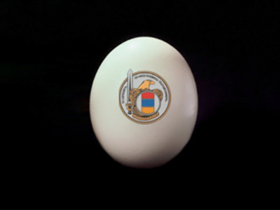 "Armenian supermarkets stock up on ""Defense"" eggs"