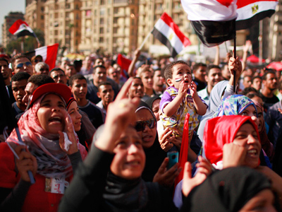 Mob assaults Egyptian women protesting harassment, ELBaradei apologizes