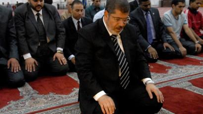 Mohamed Morsi (C) (AFP Photo / STR)