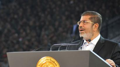 Egypt's President Mohamed Morsi.(AFP Photo / Eyptian Presidency)