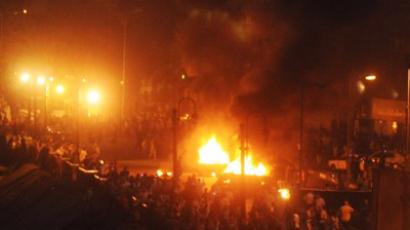 Mint Western munition killing Cairo protesters