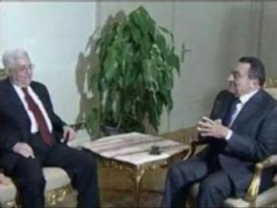 Egyptian and Palestinian presidents meet to stop violence in region