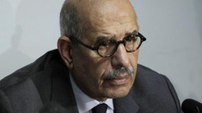 Mohamed ElBaradei (AFP Photo / Mahmud Hams)