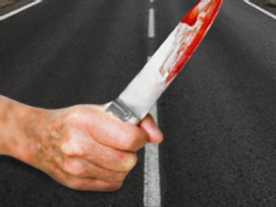 Enraged pensioner stabs driver at zebra crossing
