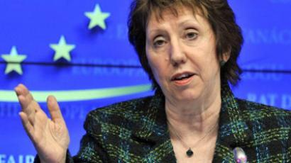European Union High Representative for Foreign Affairs and Security Policy Catherine Ashton. (AFP Photo / Georges Gobet)
