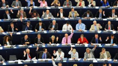 Members of the European Parliament take part in a voting session (AFP Photo / Frederick Florin)