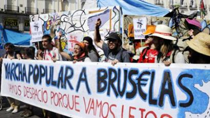 Money march: 1,500km trek to demand Brussels clean up its act