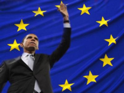 Europe votes for Obama