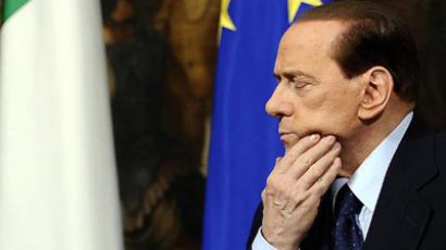 Italian Prime Minister Silvio Berlusconi (AFP Photo / Filippo Monteforte)