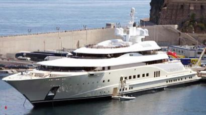 """Medvedev's yacht"" tested in Sochi"