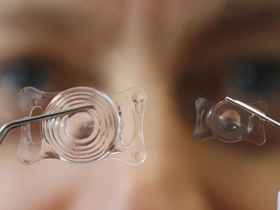 Natural cure: Scientists create stem cell contact lens