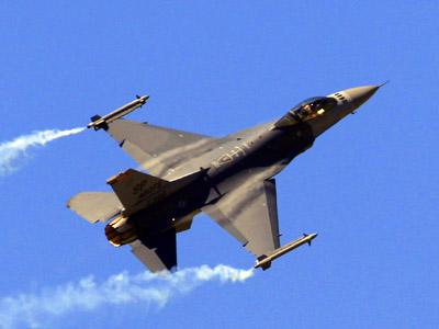 F-16 fighter jet splash down in Pacific near Kurils