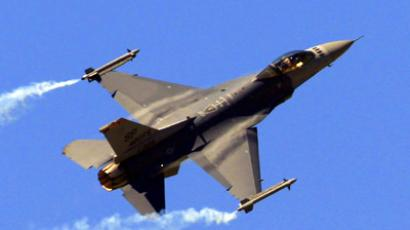 A F-16 Fighting Falcon fighter jet (Reuters/Gonzalo Fuentes)